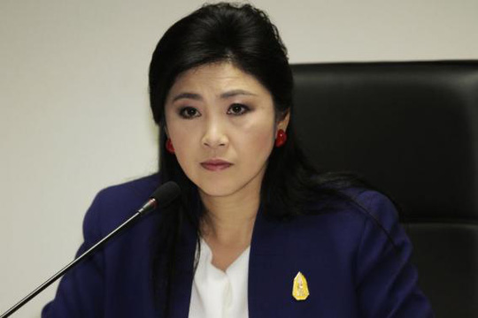 Bà Yingluck bác bỏ cáo buộc tham nhũng trong chương trình thu mua lúa gạo của chính phủ. Ảnh: Reuters