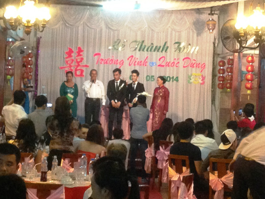 Đám cưới đồng tính đầu tiên ở Tiền Giang