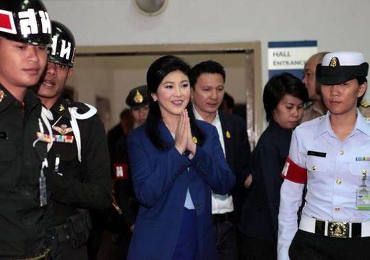 Thủ tướng Yingluck sẽ bị điều tra vì không hoàn thành nhiệm vụ được giao. Ảnh: Bangkok Post