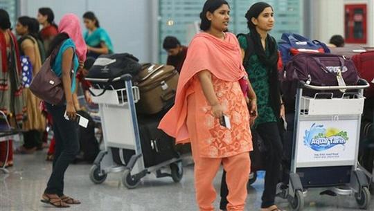 Bộ Ngoại giao Ấn Độ không cung cấp chi tiết thông tin liên quan tới việc các nạn nhân này được phóng thích. Ảnh: AP