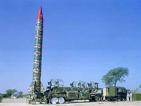 Tên lửa Nodong của Triều Tiên. Ảnh: Softwar