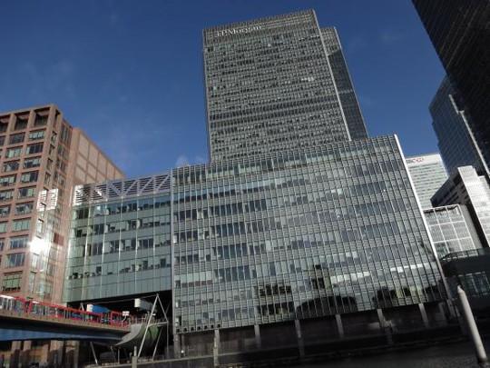 Văn phòng JP Morgan tại Lonlon - Anh. Ảnh: Reuters