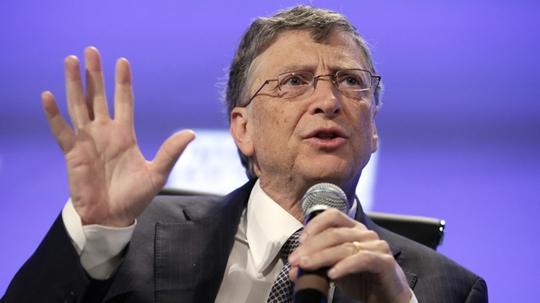 Bill Gates, tỉ phú giàu nhất thế giới năm 2014. Ảnh: Reuters