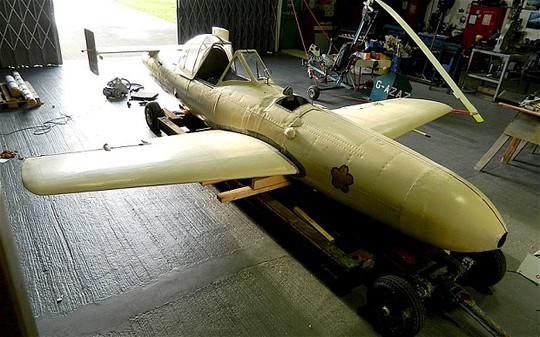 Chiếc Thần Phong duy nhất còn sót lại từ thời Thế chiến II. Ảnh: Telegraph