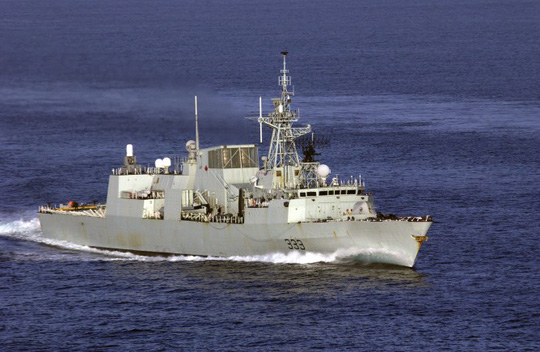 Khu trục hạm cỡ nhỏ Toronto của Canada. Ảnh: U.S. Navy