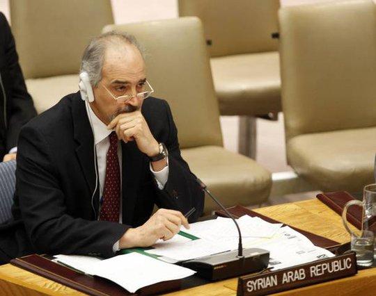 Đại sứ Syria tại Liên Hiệp Quốc Bashar Jaafari bị hạn chế đi lại ở Mỹ. Ảnh: All Voices