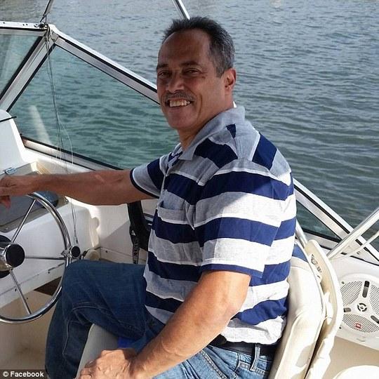 Ông William Lopez sau khi ra tù. Ảnh: Facebook