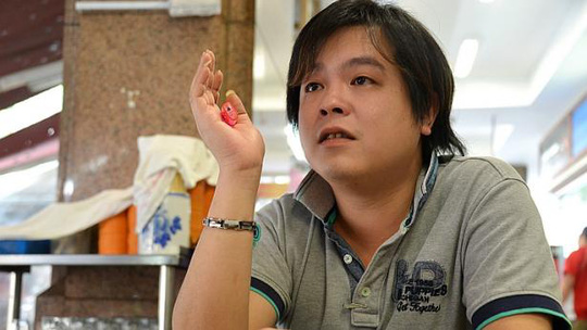 Mr Jover Chew, the owner of Mobile Air, in an interview with The New Paper. -- PHOTO: TNP