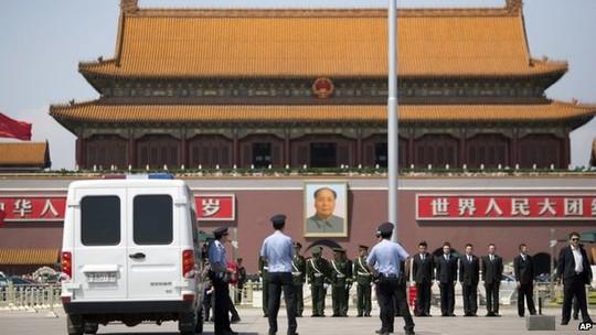 Một số nhà hoạt động, blogger và nhà báo Trung Quốc đã bị giam giữ trong những tuần gần đây. Ảnh: AP