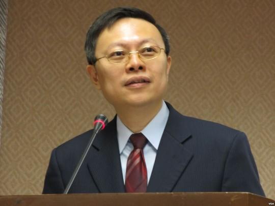 Ông Vương Úc Kỳ, phụ trách bộ phận chính sách đối với Trung Quốc đã đến Bắc Kinh tham dự cuộc hội đàm lịch sử hôm 11-2. Ảnh: Wikipedia