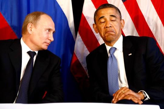 Hai nhà lãnh đạo Nga-Mỹ vốn không ưa gì nhau. Ảnh: Reuters