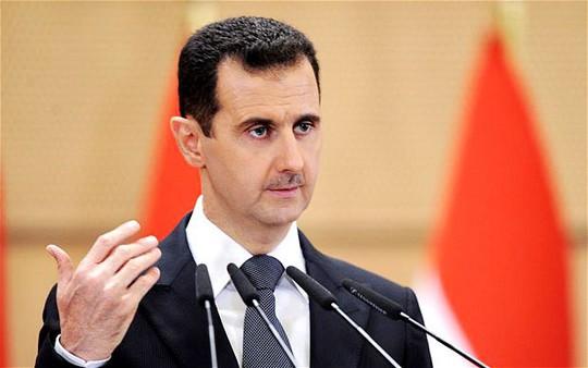 Tổng thống Syria Bashar Assad. Ảnh: AP