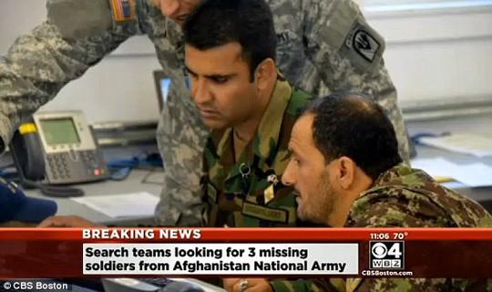 Các binh sĩ Afghanistan tham gia chương trình RC 2014 tại Mỹ. Ảnh: CBS Boston