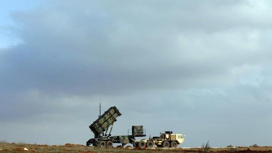 Một hệ thống tên lửa Patriot của Thổ Nhĩ Kỳ tại căn cứ quân sự tỉnhGaziantep. Ảnh: Reuters