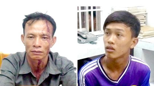 Cha con Quách Văn Tâm và Quách Văn Tường bị bắt giữ ngay trong đêm 20-5.