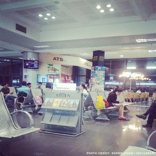 Hình ảnh minh họa về sân bay Nội Bài đăng trên trang sleepinginairports.net