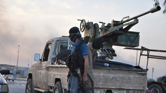 Fighters of the Islamic State of Iraq and the Levant (ISIL), (Reuters / Stringer)