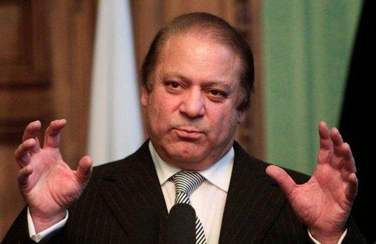 Thủ tướng Pakistan Nawaz Sharif. Ảnh: AP