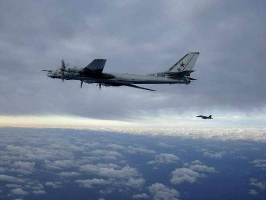 Máy bay chiến lược tầm xa của Nga. Ảnh: Breitbart