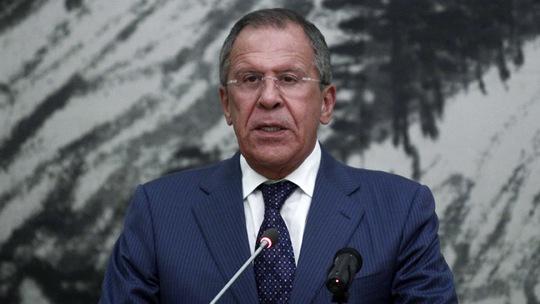 Russias Foreign Minister Sergei Lavrov (Reuters/Tiksa Negeri)