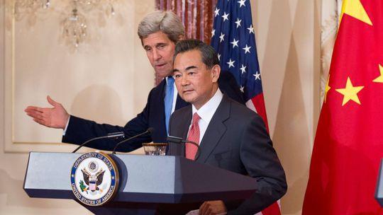 John Kerry, Wang Yi