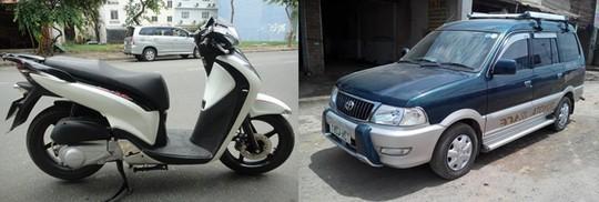 Giá SH Ý tương đương một chiếc xe hơi cũ.