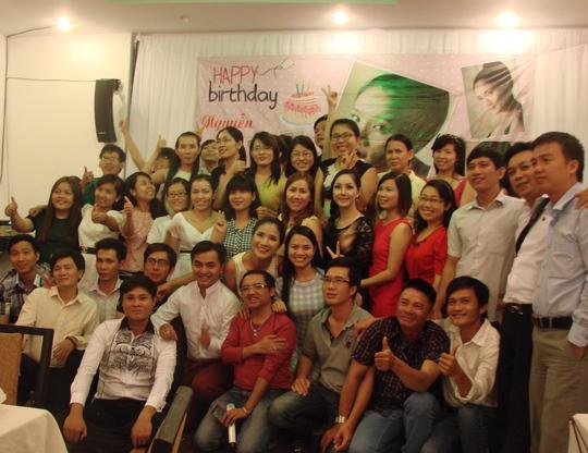 Một bữa tiệc sinh nhật ấm áp