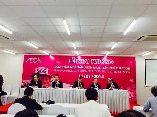 Chính thức khai trương trung tâm mua sắm lớn nhất TP HCM - AEON MALL Tân Phú Celadon