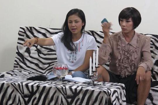 Việt Trinh chỉ đạo diễn xuất