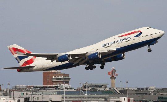 Hãng hàng không quốc gia Vương quốc Anh. Ảnh: Wikipedia