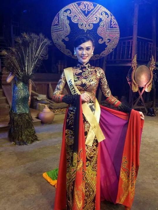 Cao Thùy Linh tại cuộc thi Miss Grand International 2014