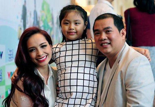 Thúy Hạnh, Minh Khang và con gái