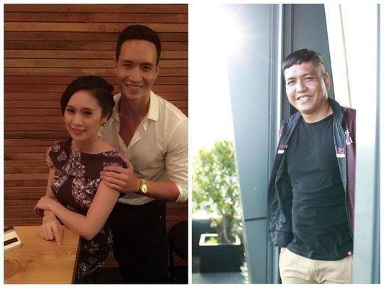 Khi Thanh Thúy chụp hình với Kim Lý, Đức Thịnh than thở: Rồi, chụp hình với 6 múi. Tôi chỉ thiếu 5 múi chứ mấy
