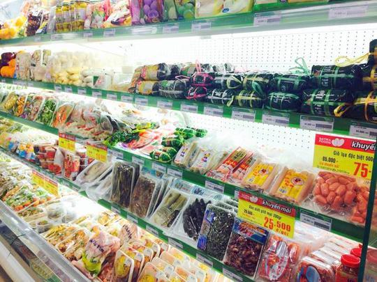 Dãy hàng thực phẩm đông lạnh của VISSAN