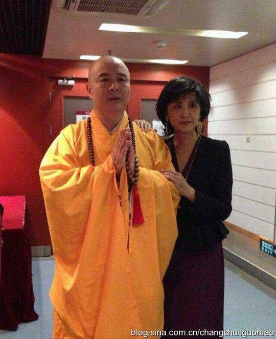 Diễn viên Chu Lâm và Từ Thiếu Hoa