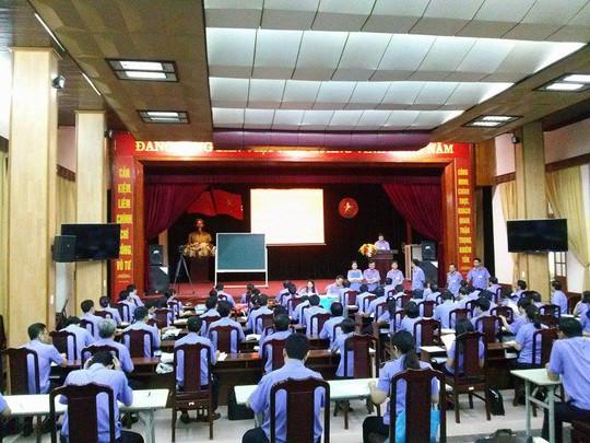 Cuộc thi tổ chức ngay tại trụ sở của VKSND Tối cao