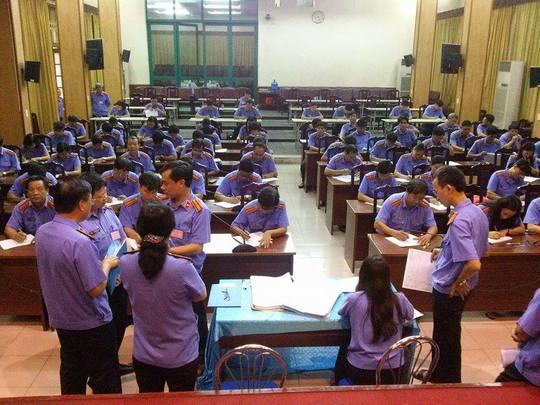 68 thí sinh trong số 69 thí sinh lọt vào vòng 2 thi tuyển có mặt