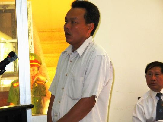 Bị cáo Nguyễn Minh Quyền trong phần xét hỏi