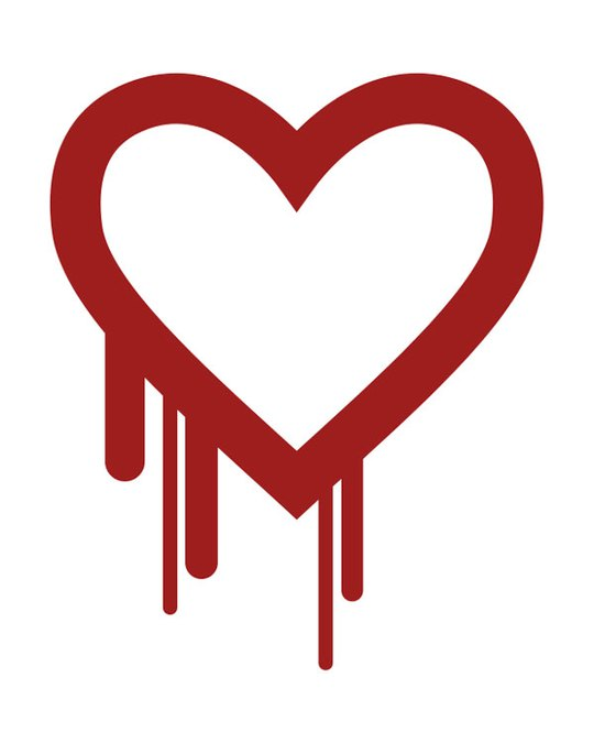 Logo lỗi HeartBleed - thiết kế bởi một chuyên gia an ninh mạng tại Codenomicon Nguồn: WIKIMEDIA