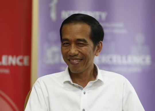 Thống đốc bang Jakarta Joko Jokowi Widodo dự kiến sẽ đắc cử tổng thống. Ảnh: Reuters