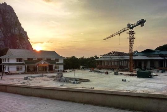 Trung tâm hội nghị Hàm Rồng (phường Hàm Rồng - TP Thanh Hóa), nơi xảy ra sự việc trên