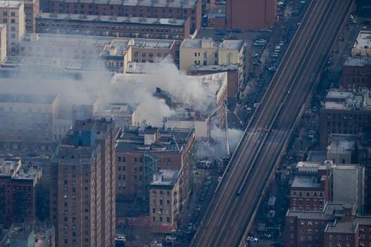 ...và có thể trông thấy từ xa. Ảnh: New York Daily News