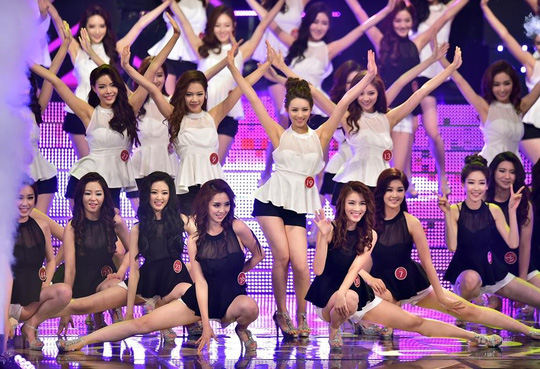 Nữ sinh đăng quang Hoa hậu Hàn Quốc 2014