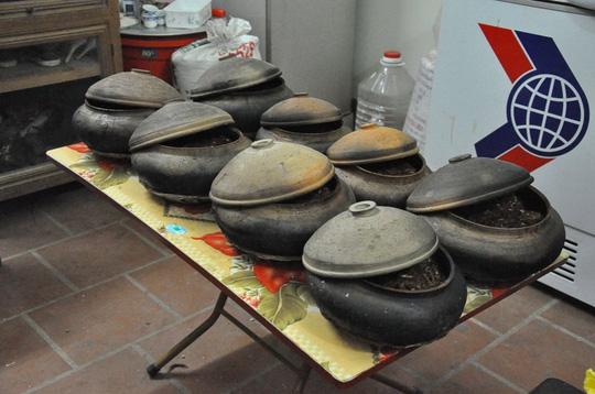 Những niêu cá kho truyền thống của làng Vũ Đại giờ đã nổi tiếng khắp trong và ngoài nước.
