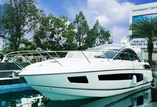 Siêu du thuyền được dành tặng cho khách hàng may mắn khi mua căn hộ tại dự án