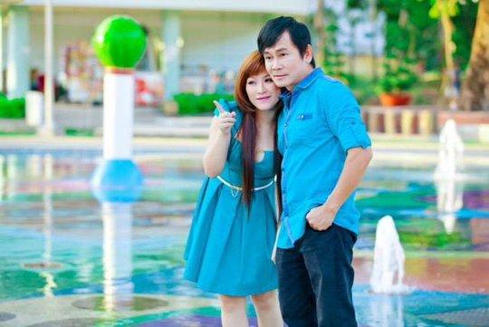 Kiều Linh và chồng Mai Sơn