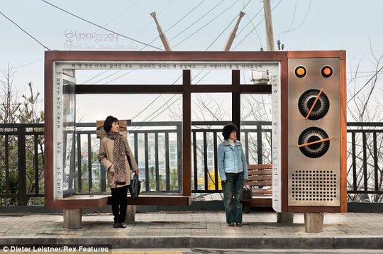 Trạm xe buýt với thiết kế thú vị ở Hàn Quốc. Ảnh: Dieter Leistner
