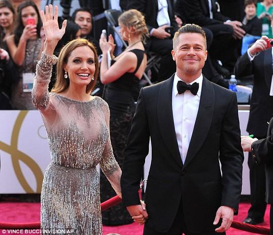 Brad và Angelina đã cưới