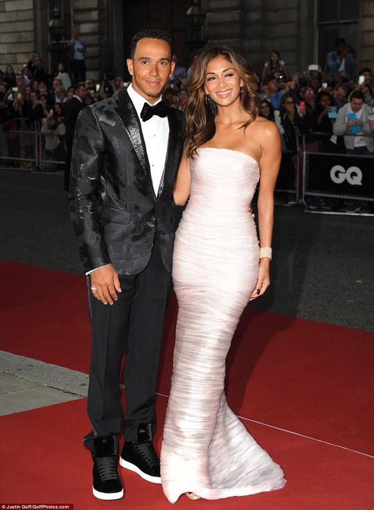 Lewis Hamilton và bạn gái