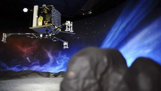 Tàu thăm dò của châu Âu lần đầu tiên hạ cánh xuống sao chổi